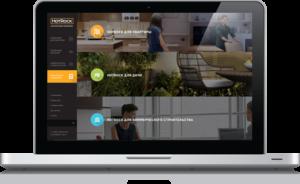 Разработка корпоративного сайта адаптив