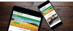 Разработка корпоративного сайта по продаже удобрениями  Тонна плюс