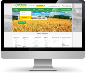 Разработка интернет-магазина по продаже удобрениями Тонна плсю