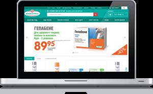 Разработка дизайна онлайн аптеки
